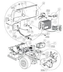 volt golf cart wiring diagram club car repair parts near me