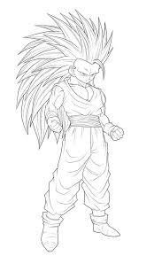 dragon ball characters super saiyan drawings drawing sketch