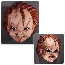 chucky mask child s play chucky mask mezco toyz horror childs play