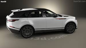range rover rims 360 view of land rover range rover velar 2018 3d model hum3d store