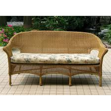 All Weather Wicker Loveseat Chicago Wicker 4 Pc Darby Wicker Patio Furniture Collection