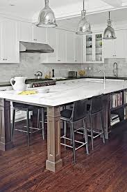 kitchen island overhang interior design
