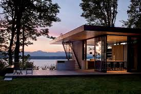 compact house design compact house lake design