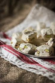 nougat with pistachios u0026 dried cranberries adventures in cooking