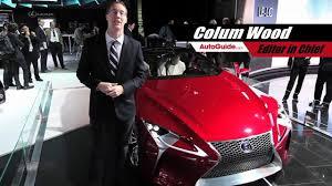 lexus lf lc hybrid concept 2013 lexus lf lc hybrid concept 2012 detroit autoshow youtube