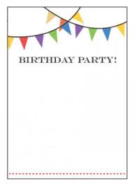 free birthday invitations templates wblqual com