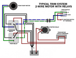 mercury outboard tilt and trim wiring diagram wiring diagrams