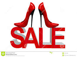 shoes sale fashion high heels royalty free stock photo