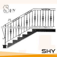 indoor ornamental cheap wrought iron stair railing buy iron