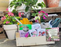 Gardening Basket Gift Ideas Roses Are Violets Are Blue Doodles