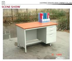 metal office desk with locking drawers steel office desk cuca me
