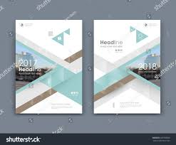 white business card style a4 brochure stock vector 697978600