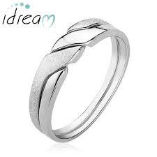interlocking engagement ring wedding band 2in1 interlocking infinity wedding band for women or men