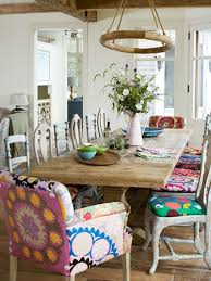Printed Dining Chairs Tour This Stunning Martha U0027s Vineyard Home And Garden Dining