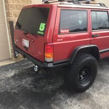 jeep xj bumper jeep custom rear bumper install u2013 sykesville md lmt auto repair