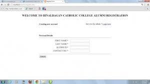 alumni website software alumni website using php mysql free source code tutorials and