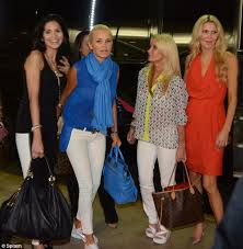 yolanda clothing off housewives life after real housewives camille grammer enjoys casual romantic