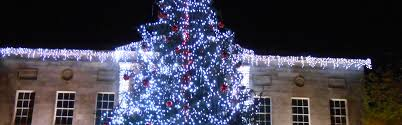 Second Hand Commercial Christmas Decorations Uk by Town Centre Festive Lighting Christmas Lighting From Christmas