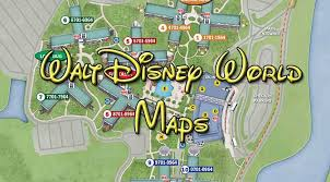 walt disney resort map disney maps kennythepirate com