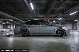 subaru legacy black rims a legacy built for stance u0026 performance speedhunters