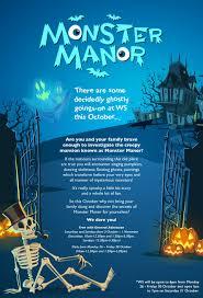 the halloween monster manor at w5 belfast lovebelfast