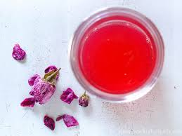 all natural rose petal jelly sew historically