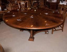 dining room regency extending jupe round dining table centre