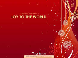 a sprinkle of christmas powerpoint template