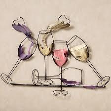 Wine Glass Wall Decor Best 25 Wine Wall Decor Ideas On Pinterest Wine Holders Wine