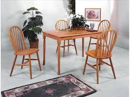 Oak Table L Crown Dining Room Solid Top 30x48 Table L Oak 2302l