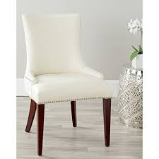 Amazon Com Safavieh Mercer Collection by Amazon Com Safavieh Mercer Collection Eva Leather Dining Chair