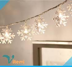 cheap snowflake 10m led string light 1 5v aa battery