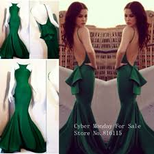 fitted backless prom dresses dress on sale