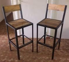 cuisine bois et metal tabouret bar bois metal chaise de bar bois drift r sine monde du
