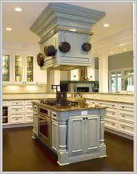 kitchen island cooktop hoods home design ideas