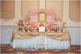 Candy Buffet Table Ideas Pink And Gold Princess By Treat Me Sweet Candy Buffets Birthday