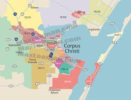 Zip Code Map New York by Corpus Christi Zip Code Map Zipcode Map Corpus Christi Texas