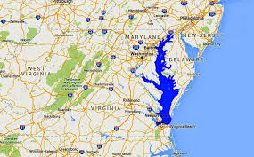 Washington Dc Hotel Map by Maps Of The Chesapeake Bay Rivers And Access Points
