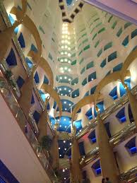 inside burj al arab free images structure building ceiling construction dubai