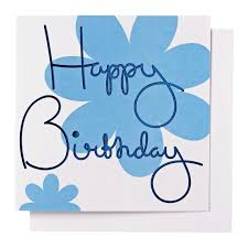 happy birthday greeting card blank 14 8 x 14 8 cm 6 1 x 6 3