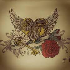 locked heart by johnflynn01 on deviantart
