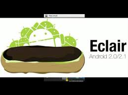 android eclair explaining about eclair android version telugu students