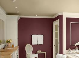 red bathroom ideas rich wine red bathroom paint color schemes