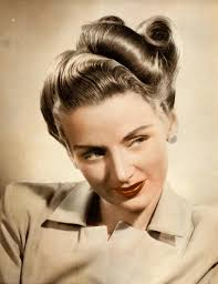 long hair 1940s u0026 1950s