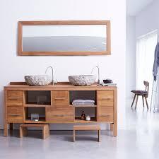 meubles en teck massif meuble teck massif sur tikamoon