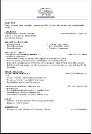 coursework for resume