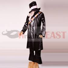Mad Hatter Halloween Costume Men 2015 Dark Mad Hatter Costume Men Black Alice