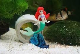 fish tank ornament aquarium decoration princess ariel