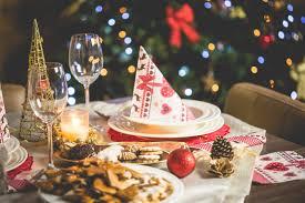 christmas dinner table setting wonderful christmas dinner table setting free stock photo download