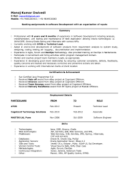 Sample Resume For Java J2ee Developer Manoj Dwivedi Resume